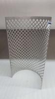 Geponste plaat 750x750x2mm, 10x10mm gaten gr2