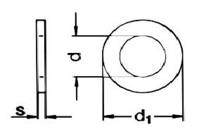 DIN125 Flat Washer