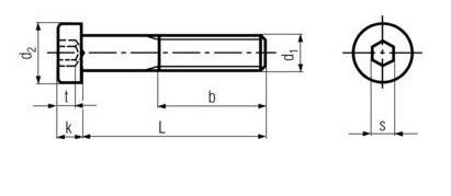 DIN7984 Low Head Socket Cap Screw