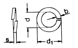 DIN127 Lock Washer